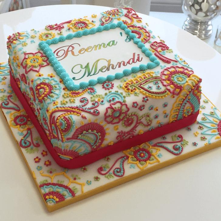 Excellent Henna Cake