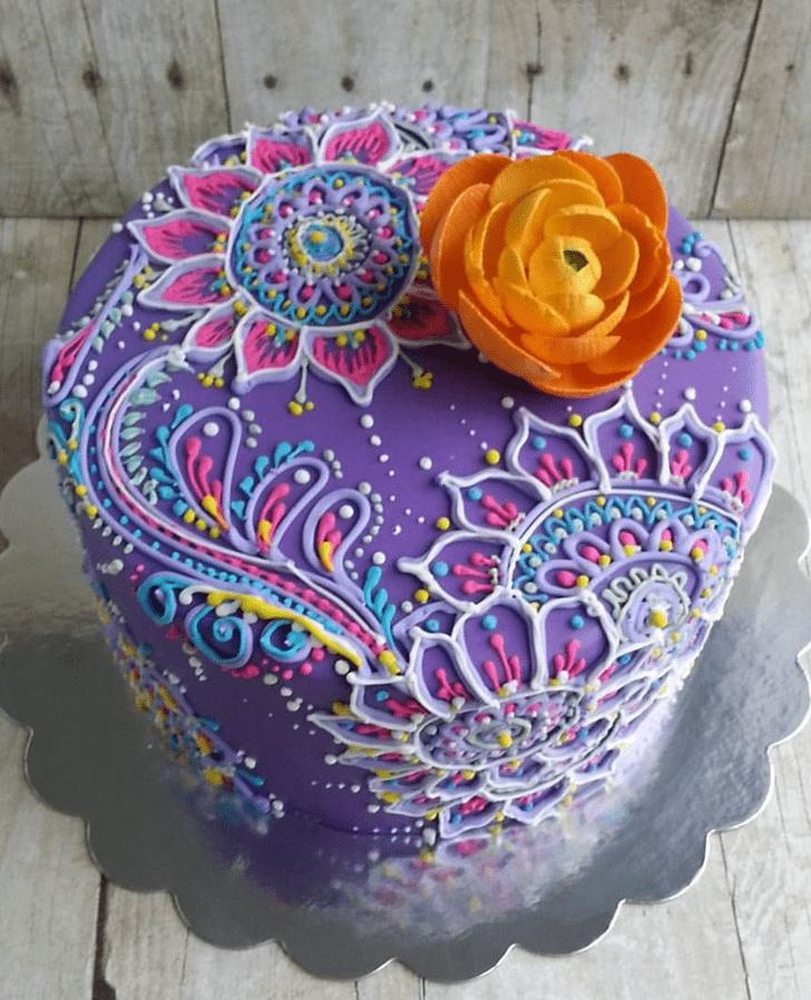Fair Henna Cake