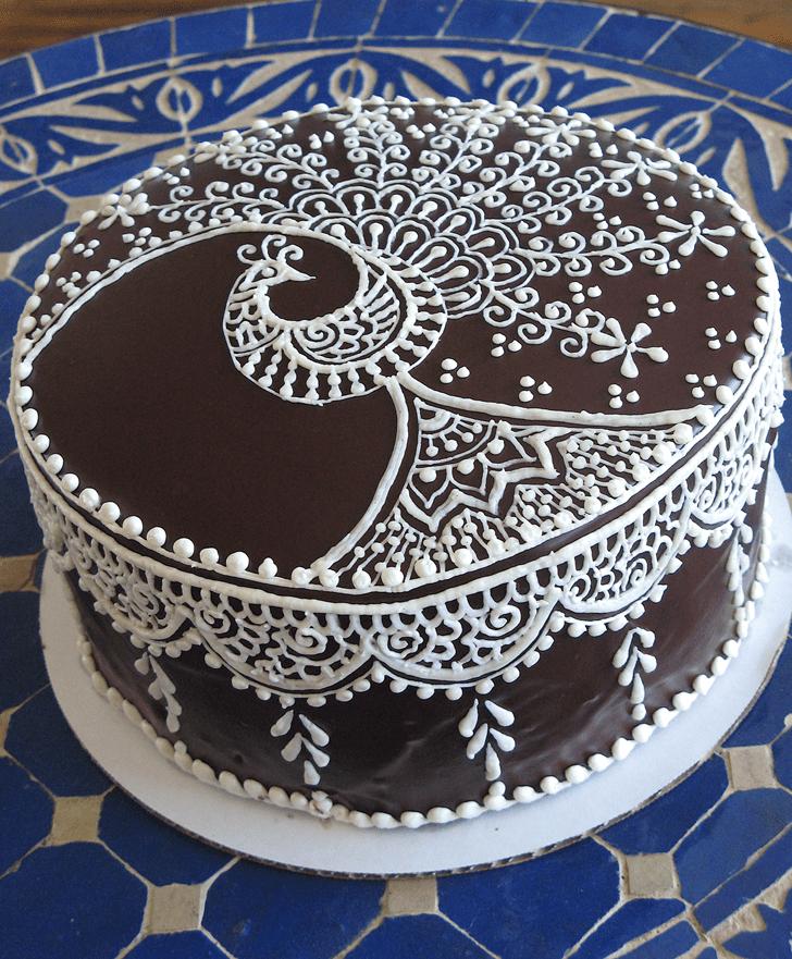 Graceful Henna Cake
