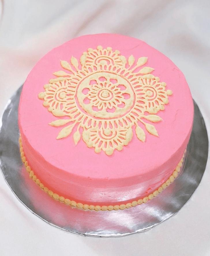 Handsome Henna Cake