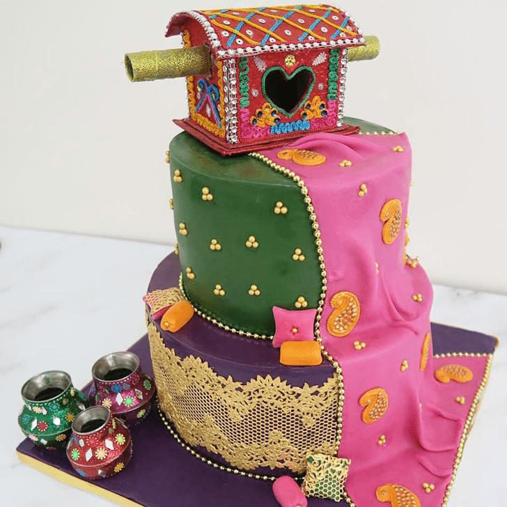 Mesmeric Henna Cake