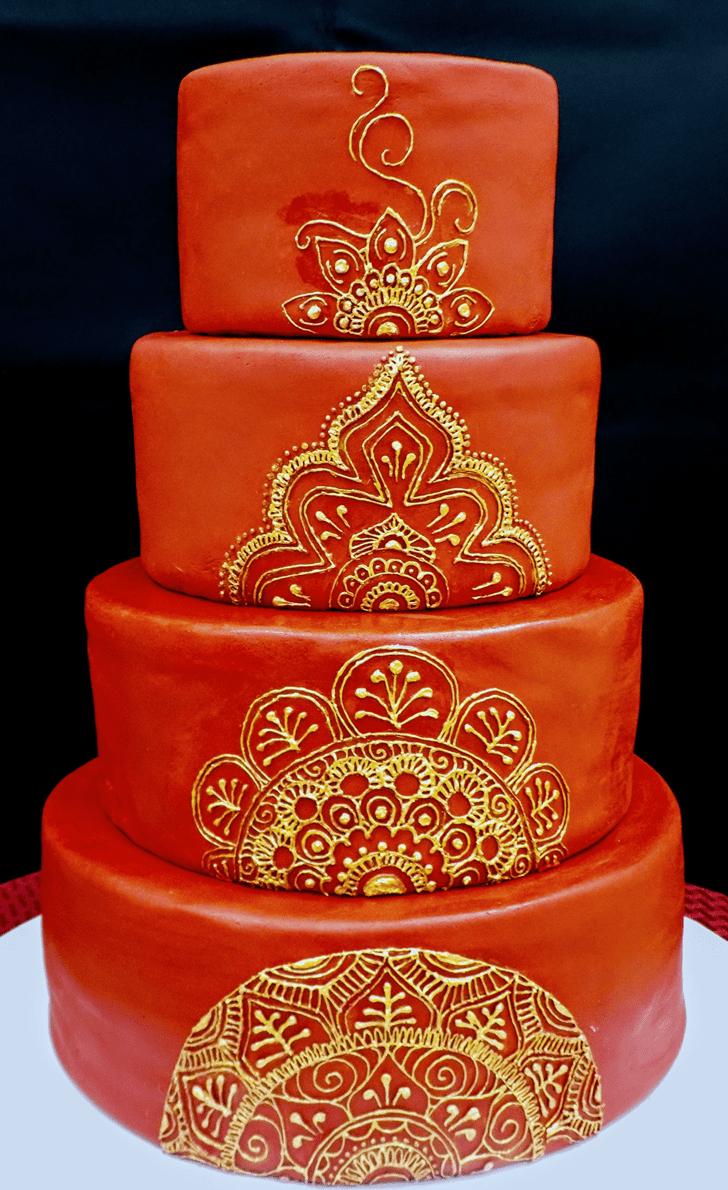 Slightly Henna Cake