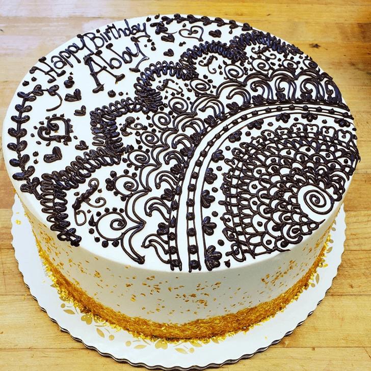 Superb Henna Cake