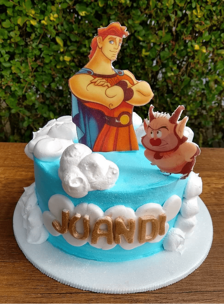 Admirable Hercules Cake Design
