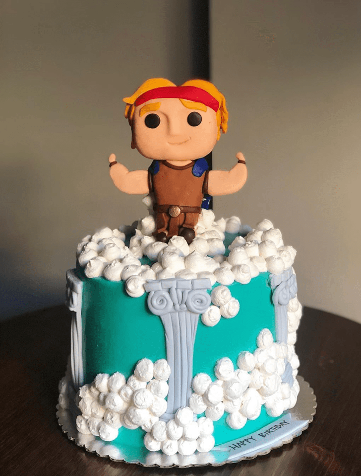 Adorable Hercules Cake