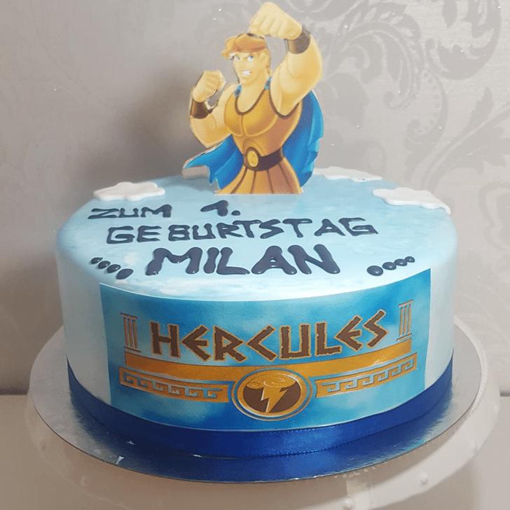 Angelic Hercules Cake