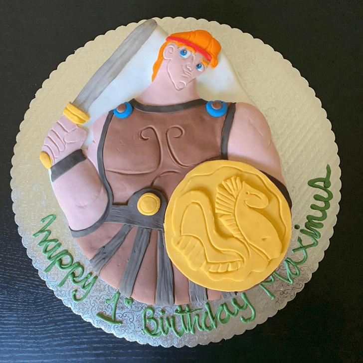 Captivating Hercules Cake