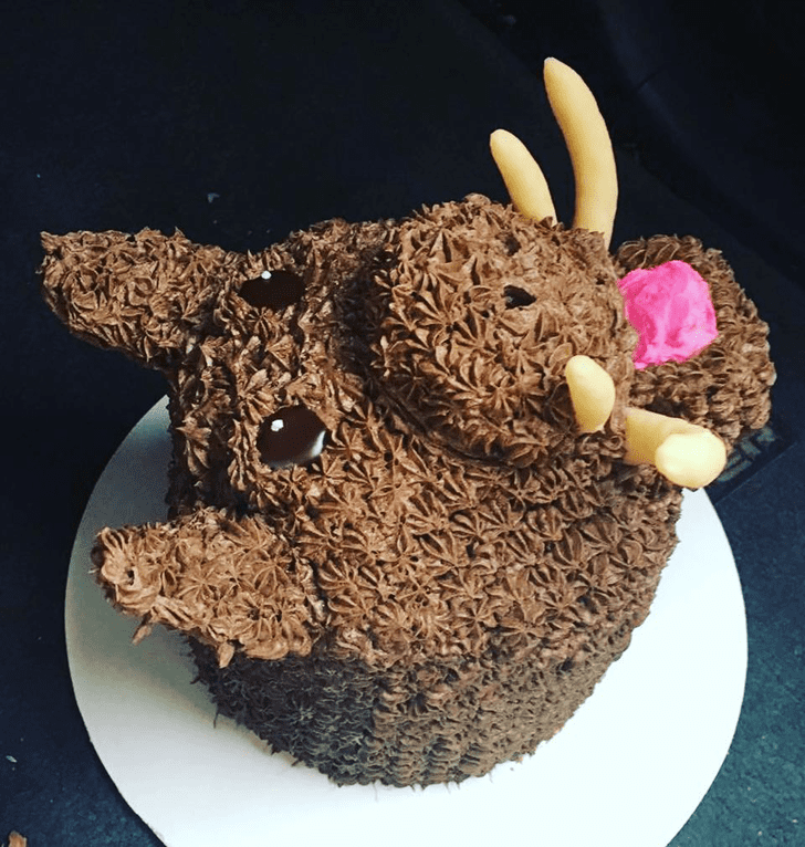 Admirable Hog Cake Design