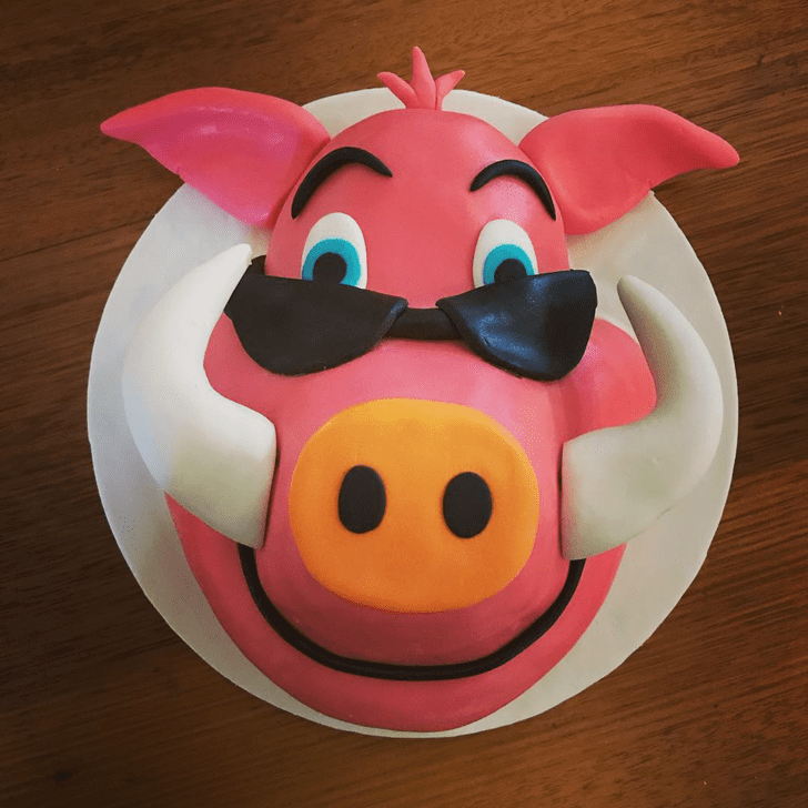 Captivating Hog Cake