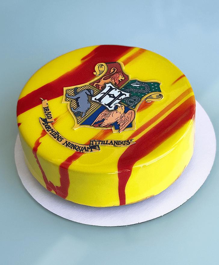Alluring Hogwarts Cake