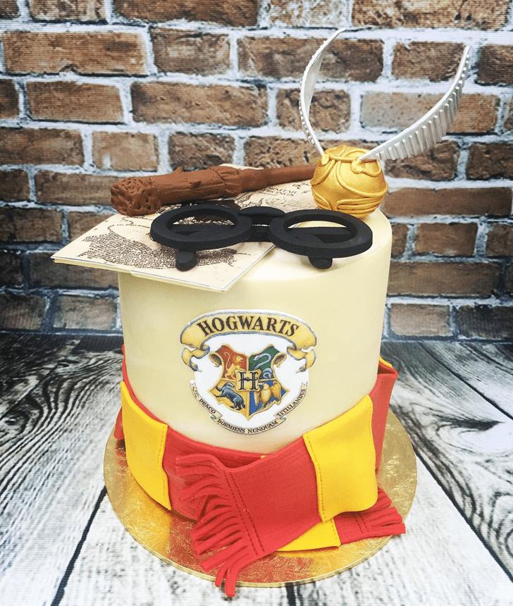 Charming Hogwarts Cake