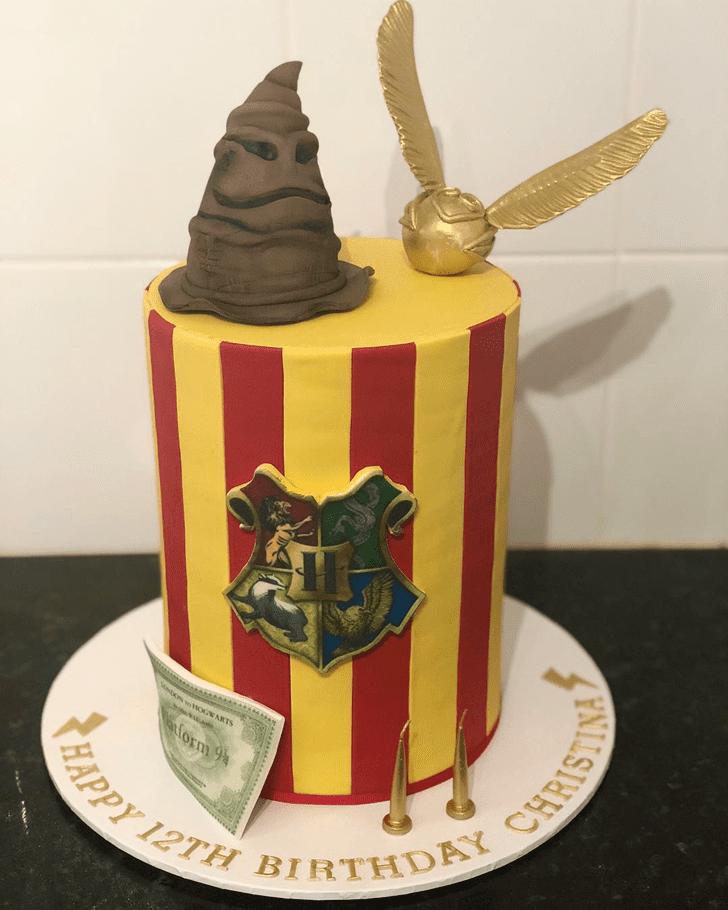 Dazzling Hogwarts Cake