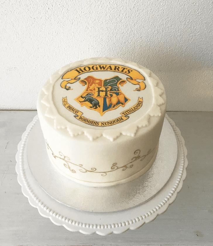Delightful Hogwarts Cake