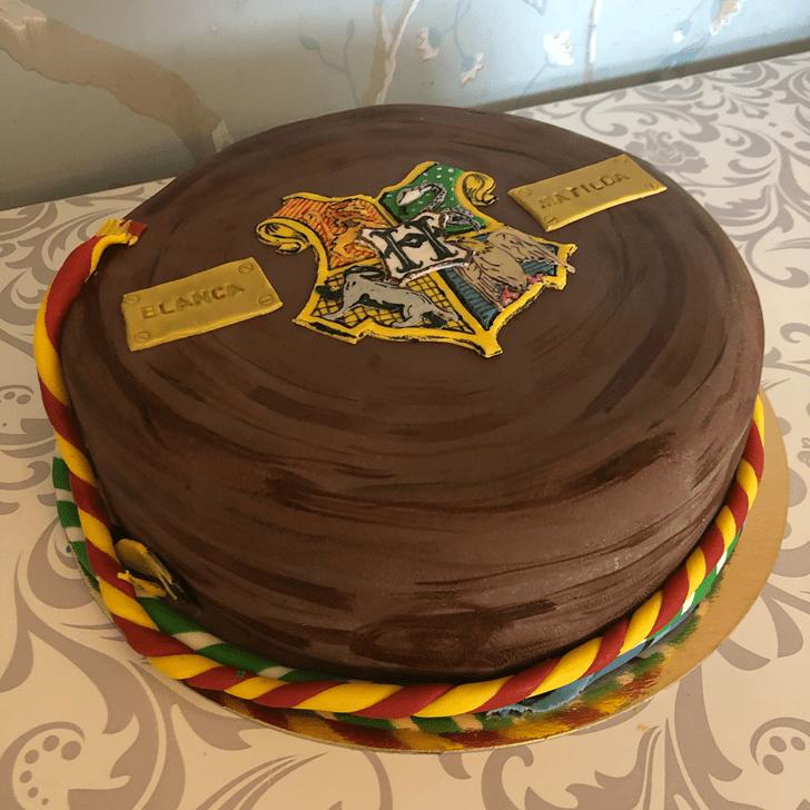 Divine Hogwarts Cake