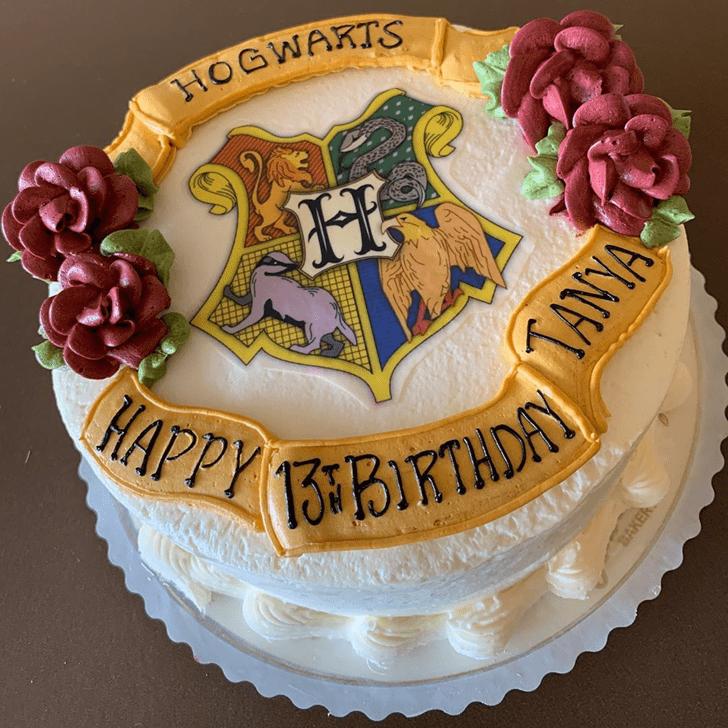Excellent Hogwarts Cake