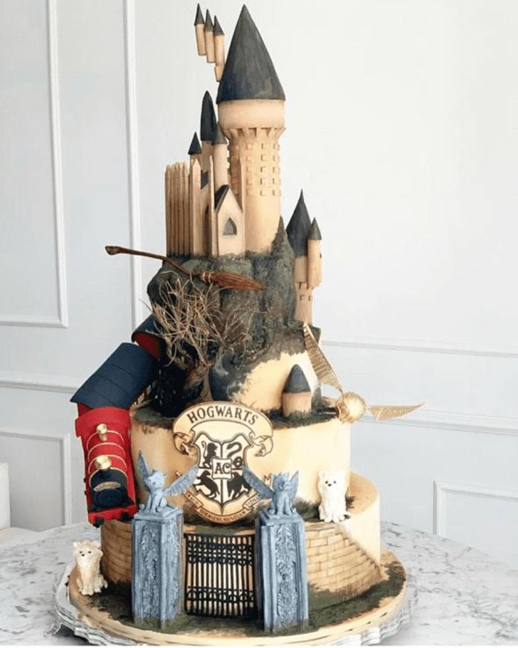 Fair Hogwarts Cake