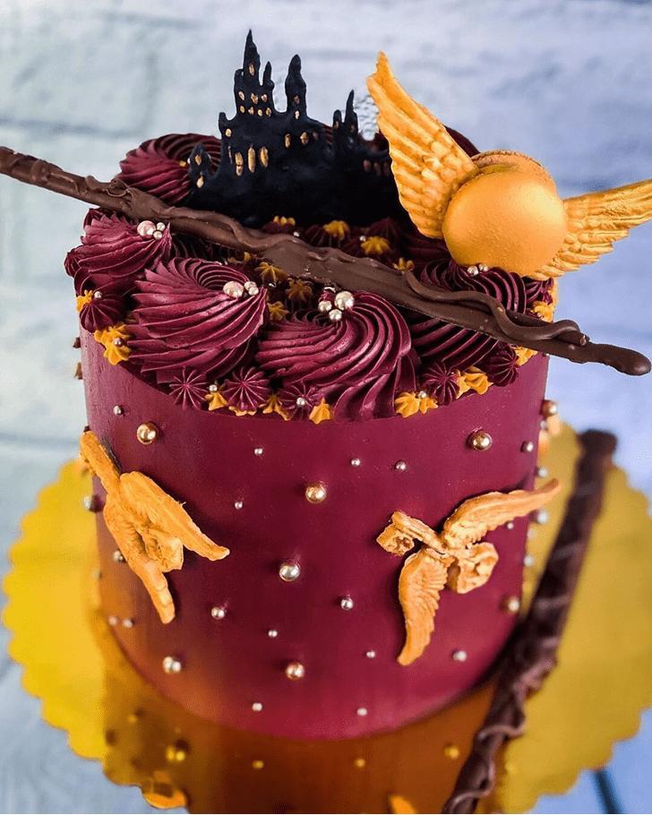 Fetching Hogwarts Cake