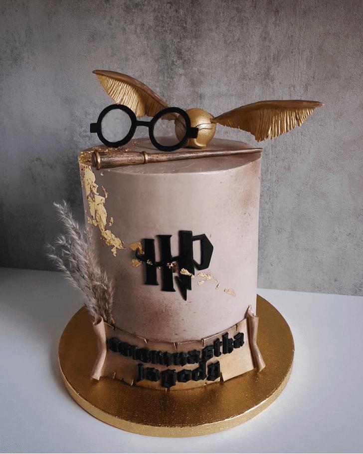 Good Looking Hogwarts Cake