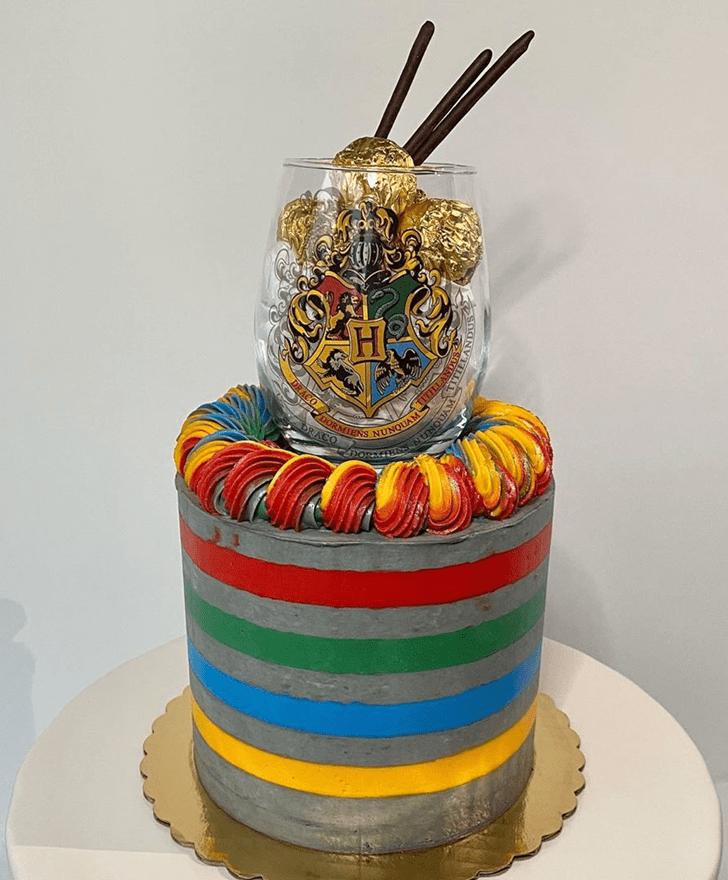 Grand Hogwarts Cake