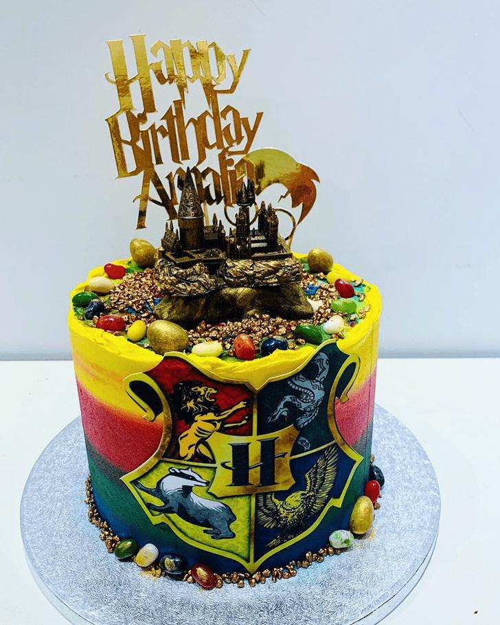 Ideal Hogwarts Cake