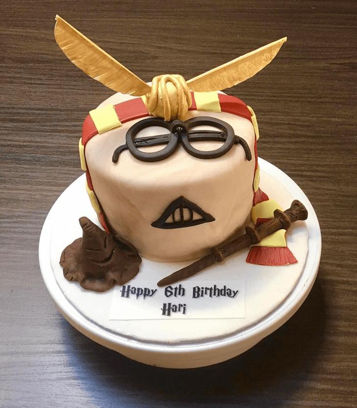 Inviting Hogwarts Cake