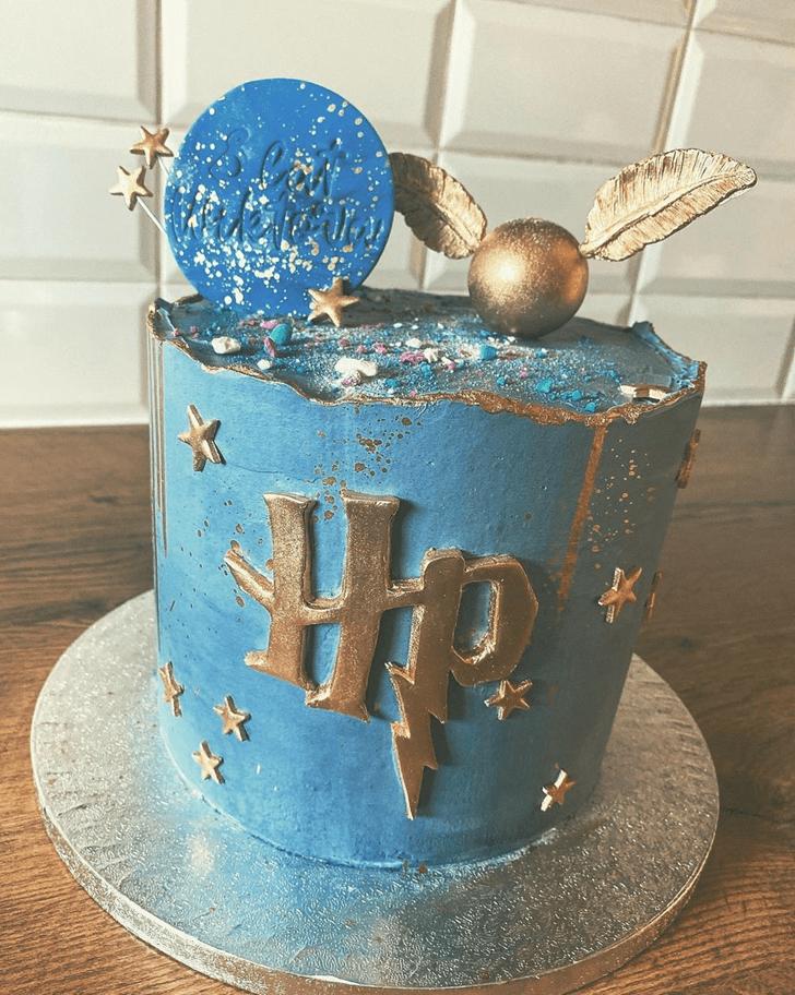 Lovely Hogwarts Cake Design