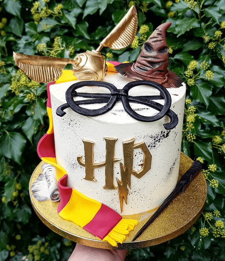Magnetic Hogwarts Cake