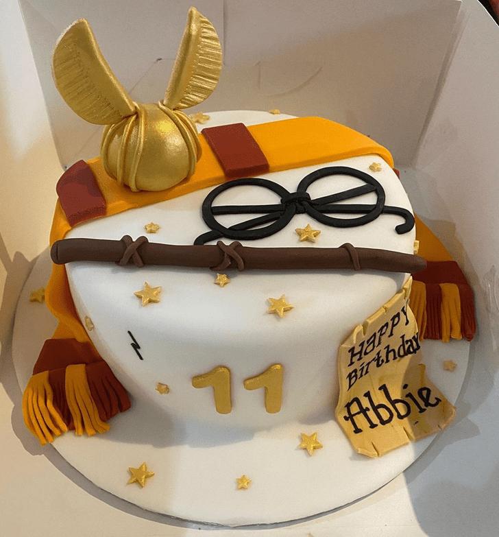 Marvelous Hogwarts Cake