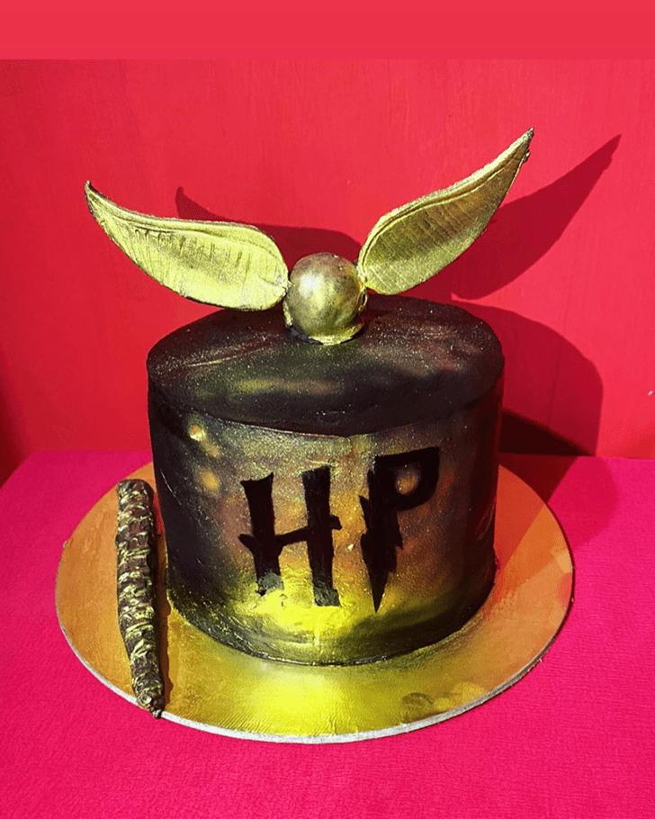 Resplendent Hogwarts Cake