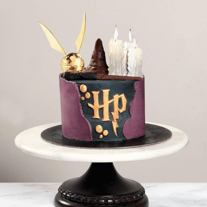 Shapely Hogwarts Cake