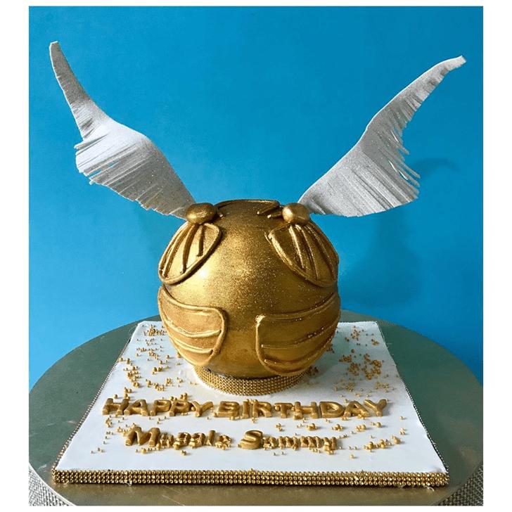 Slightly Hogwarts Cake