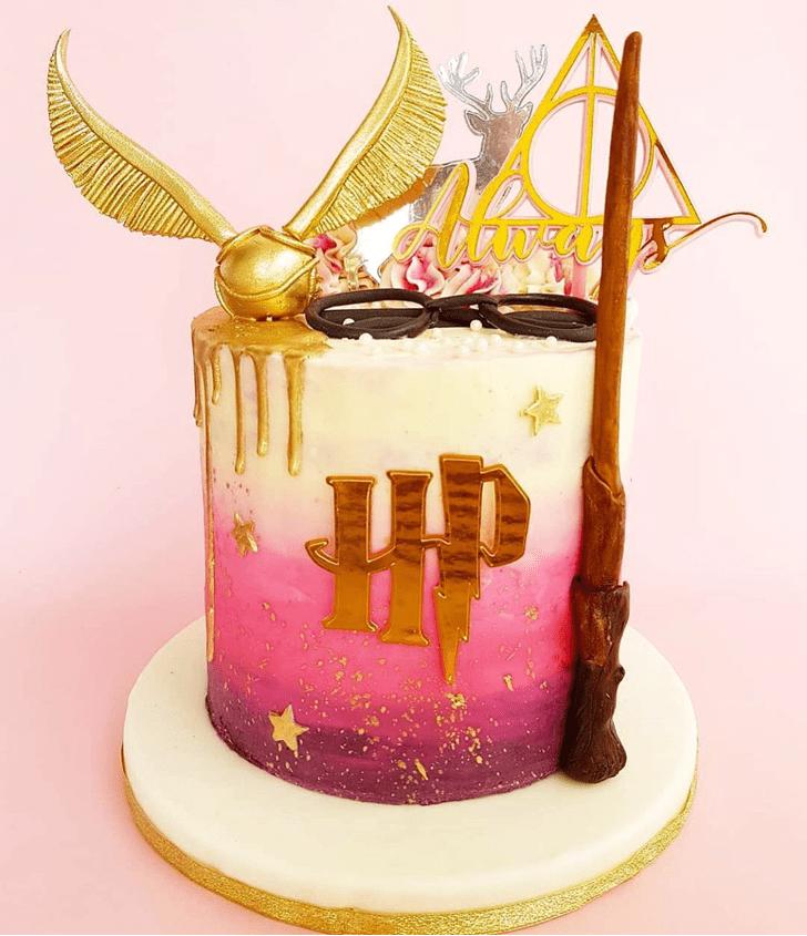 Superb Hogwarts Cake