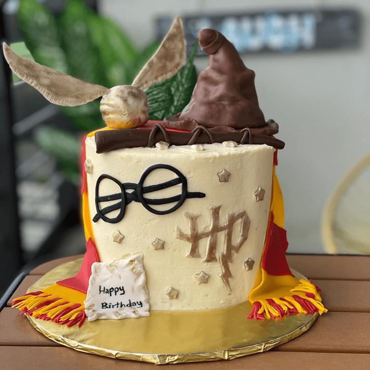 Wonderful Hogwarts Cake Design
