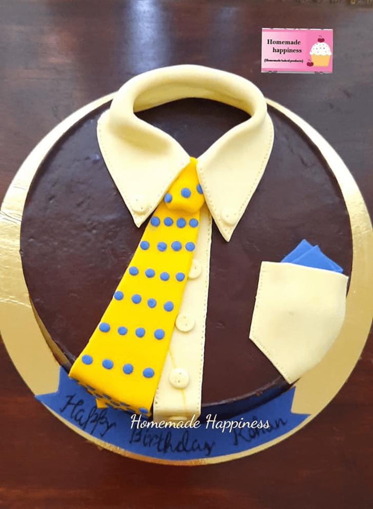 Adorable Homemade Happiness Cake