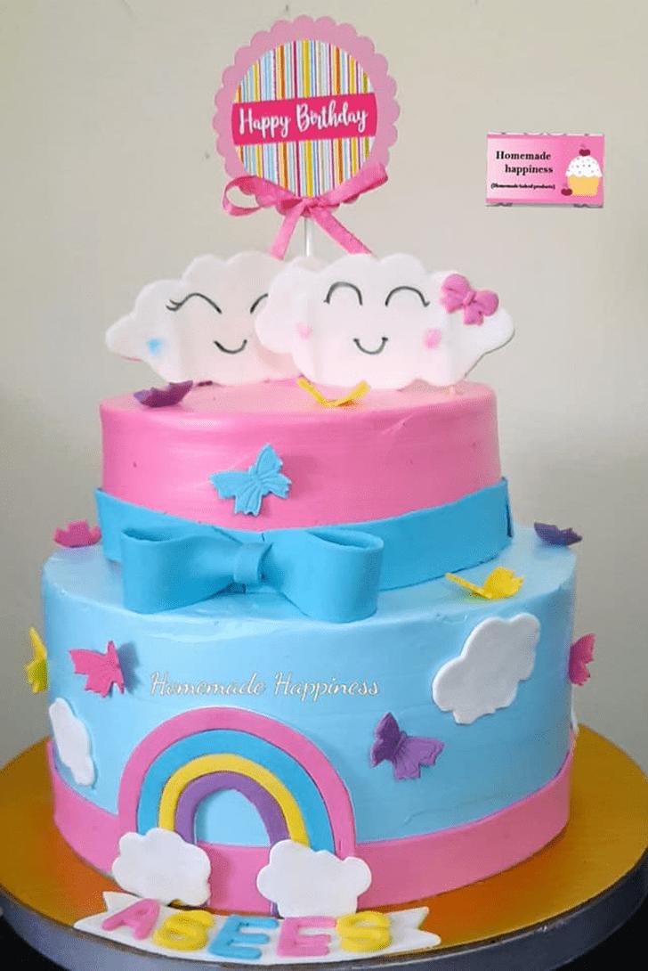 Classy Homemade Happiness Cake