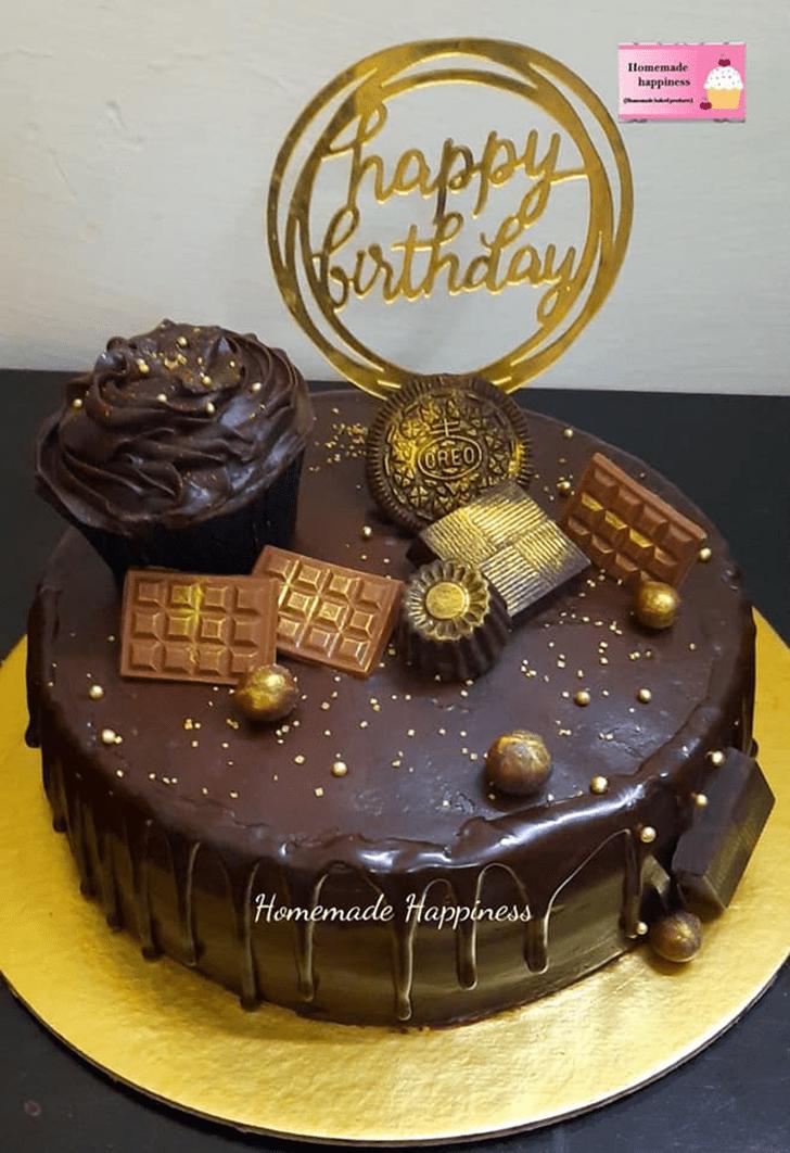 Dazzling Homemade Happiness Cake