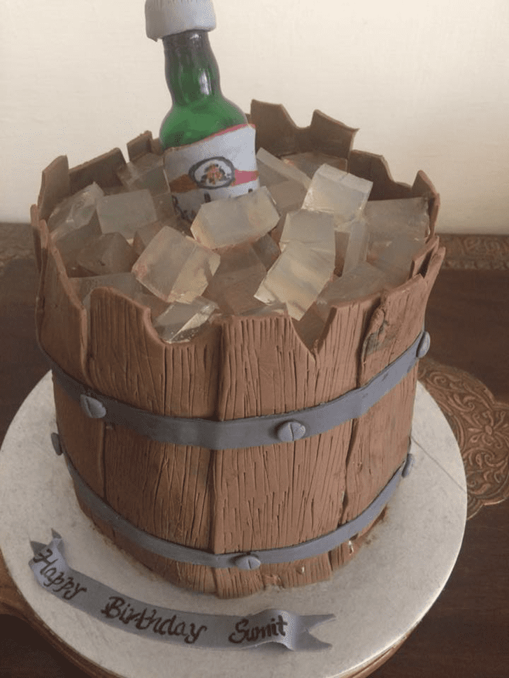 Delightful Homemade Happiness Cake
