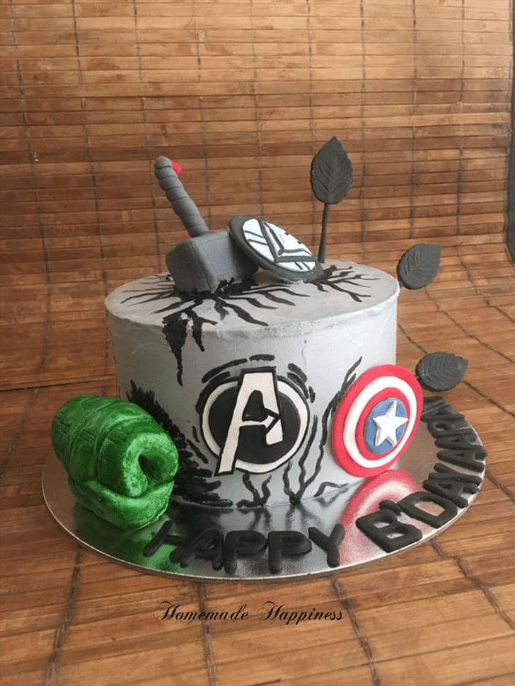 Grand Homemade Happiness Cake