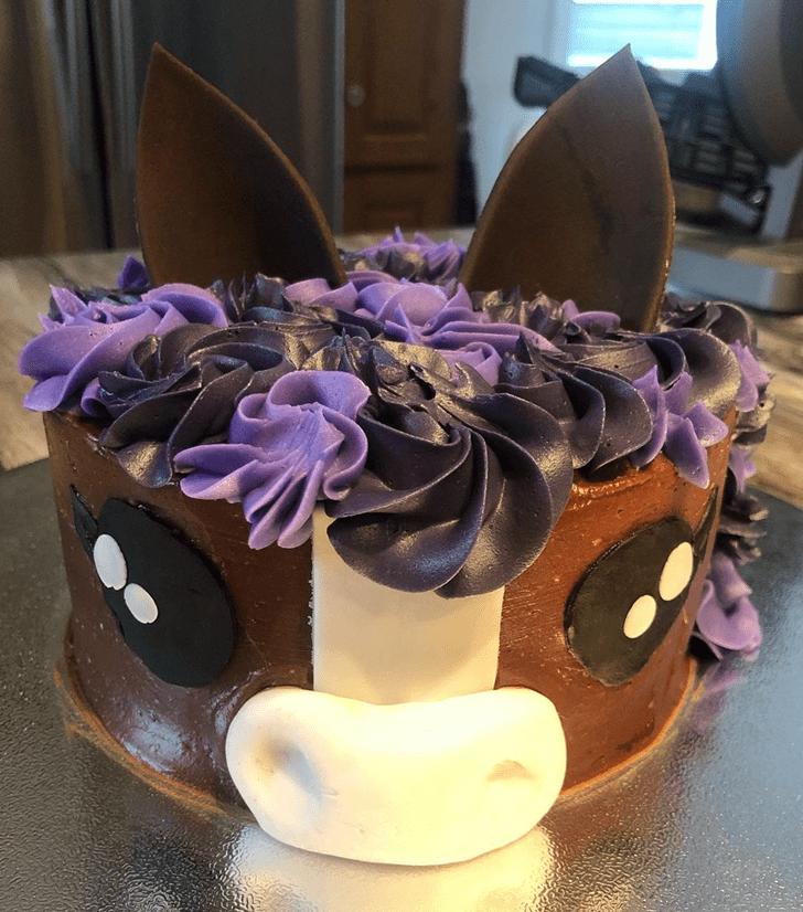 Angelic Horse Cake