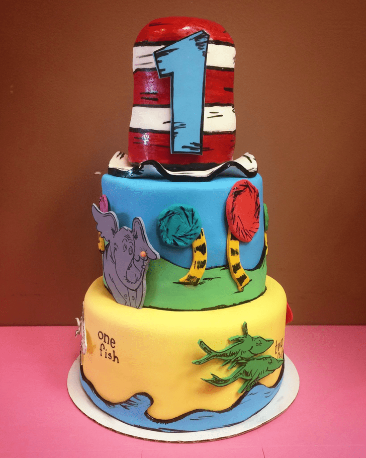 Bewitching Horton Hears a Who Cake