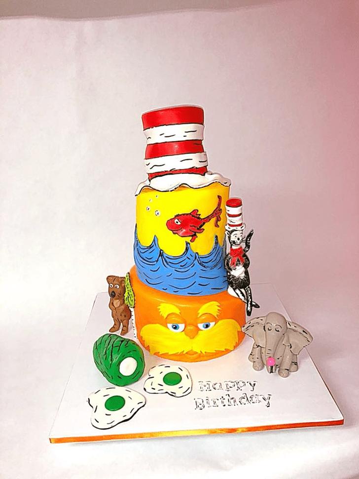 Charming Horton Hears a Who Cake