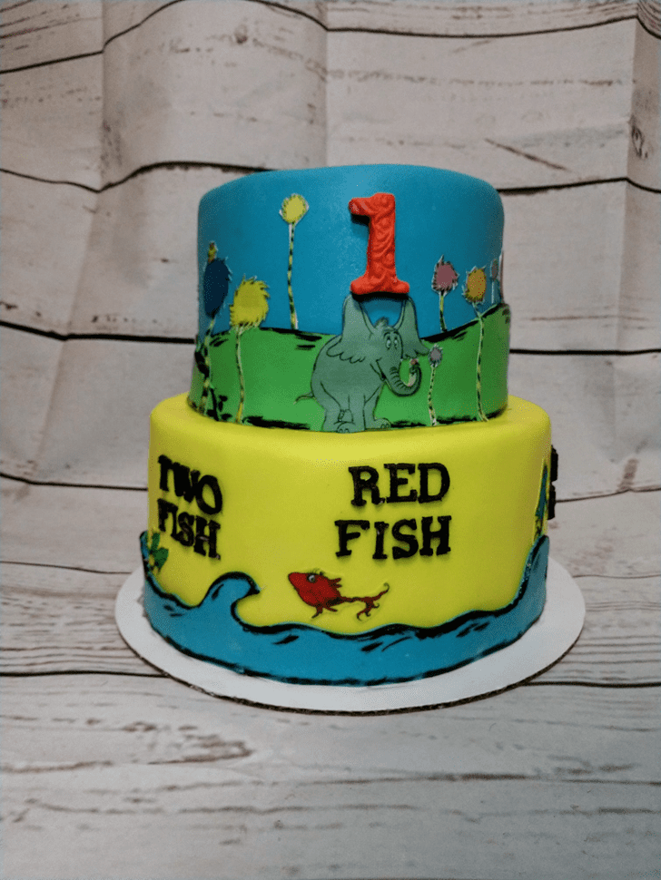 Comely Horton Hears a Who Cake