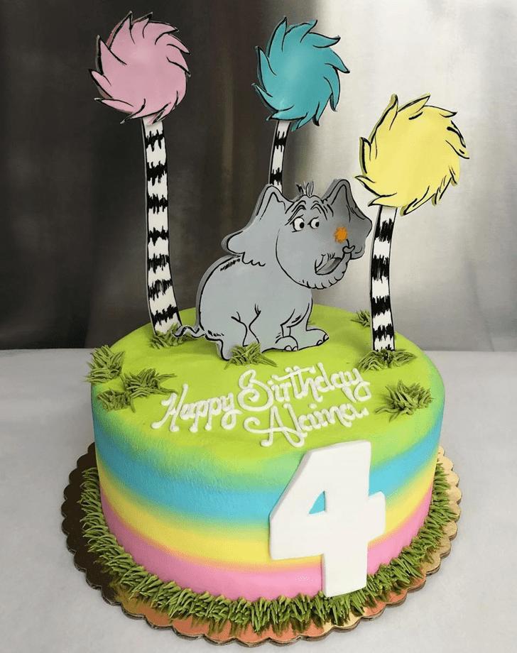 Delightful Horton Hears a Who Cake