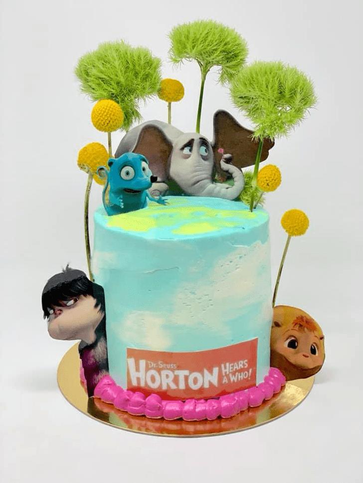 Exquisite Horton Hears a Who Cake
