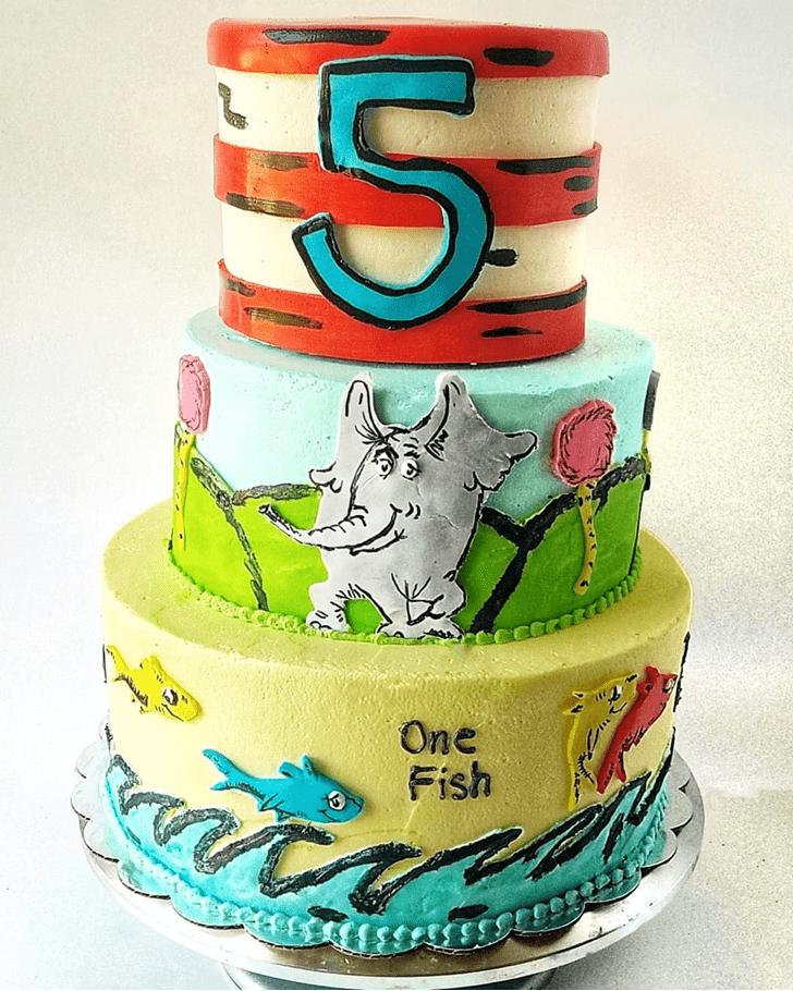 Fascinating Horton Hears a Who Cake
