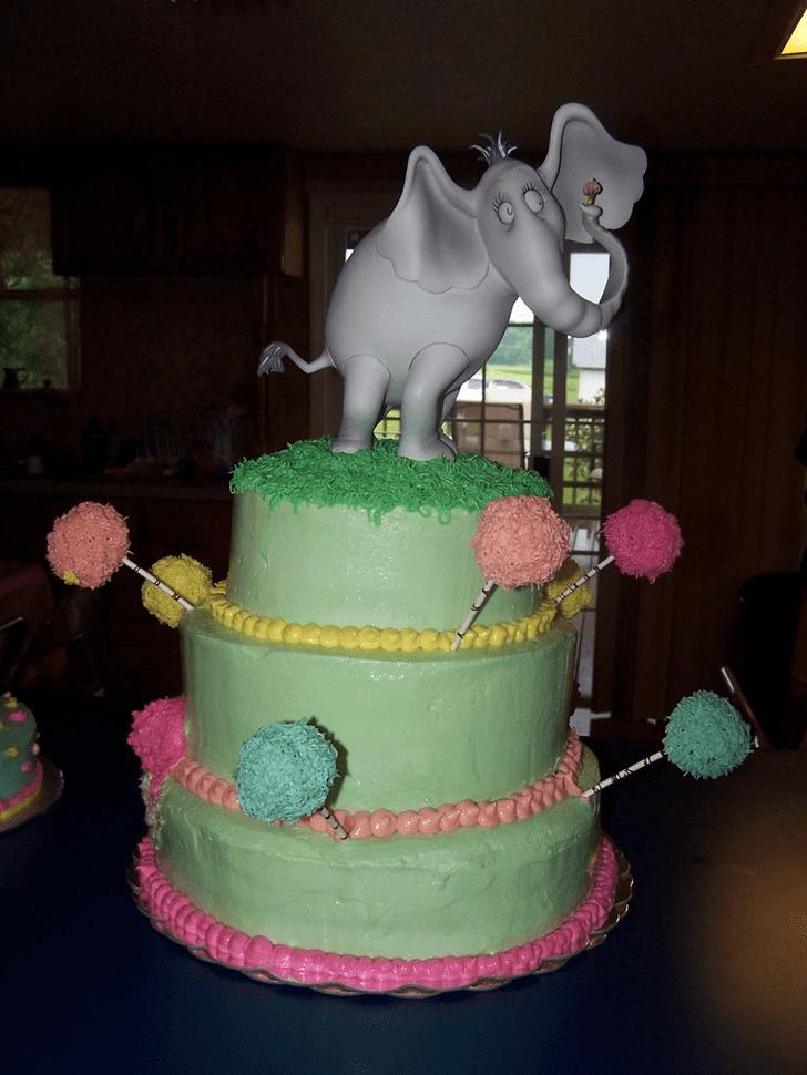 Fetching Horton Hears a Who Cake