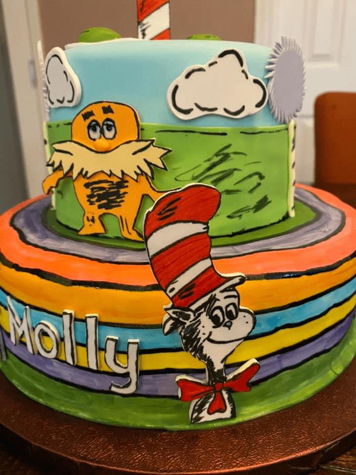 Good Looking Horton Hears a Who Cake