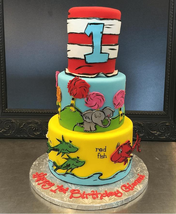 Graceful Horton Hears a Who Cake