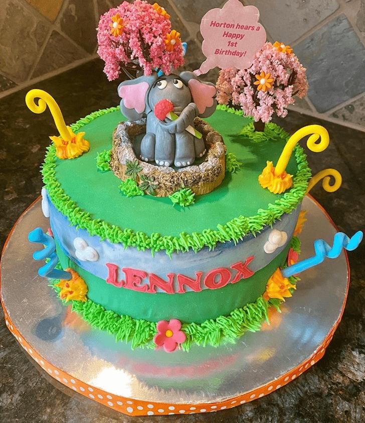 Grand Horton Hears a Who Cake