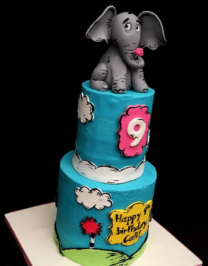 Inviting Horton Hears a Who Cake